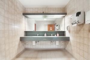 Badezimmer im IKR Gewerbepark Bitterfeld